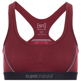 super.natural Semplice 220 Bra Women, rumba red